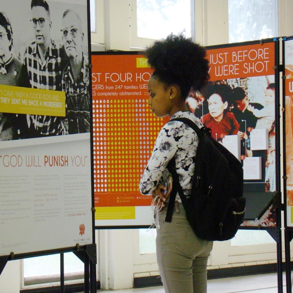 My Lai Memorial Exhibit Featured At UIC School of Public Health